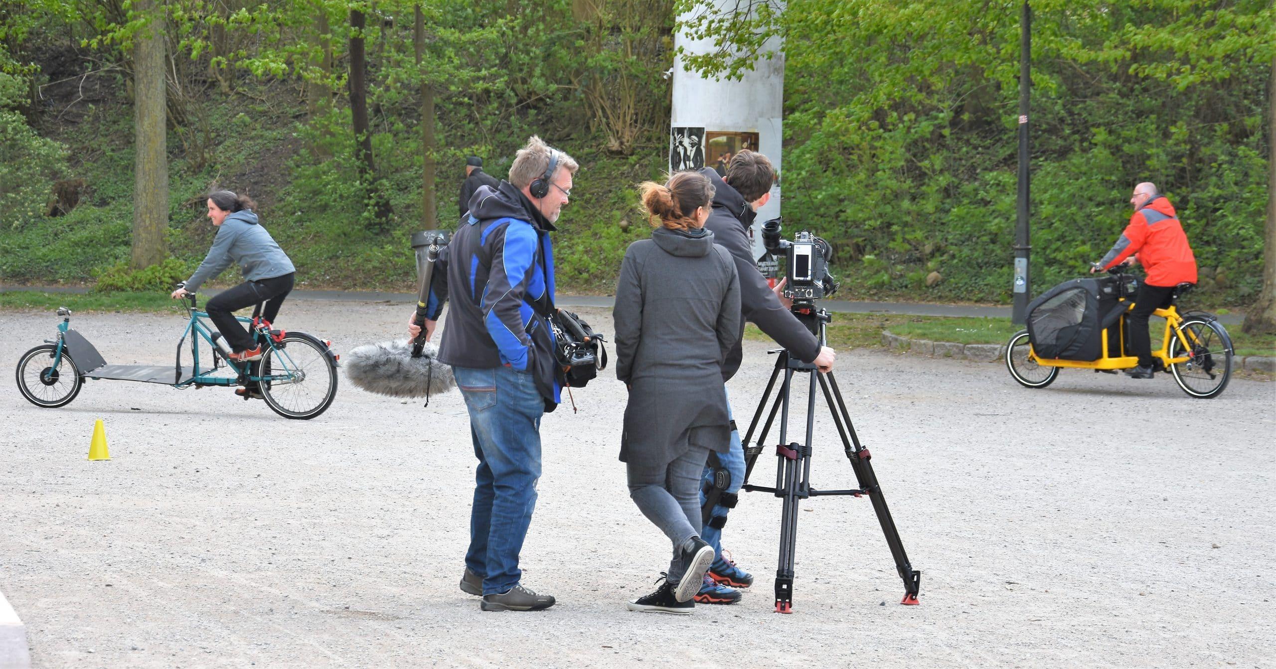ZDF-Beitrag zu Flensburger Lastenrad-Event