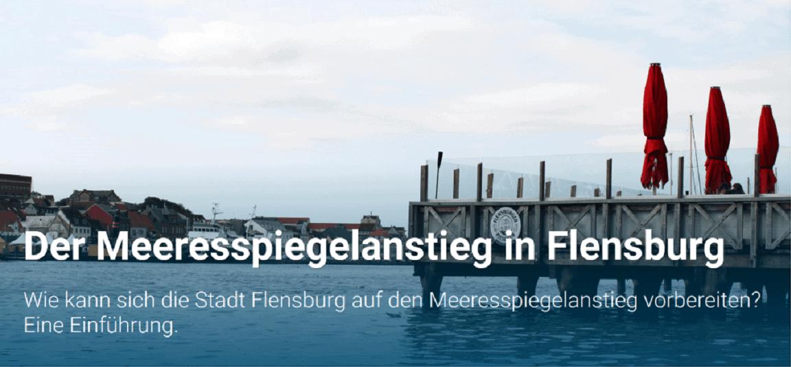 """Meeresspiegelanstieg in Flensburg: Möglichkeit zur Gestaltung einer """"Story Map"""""""