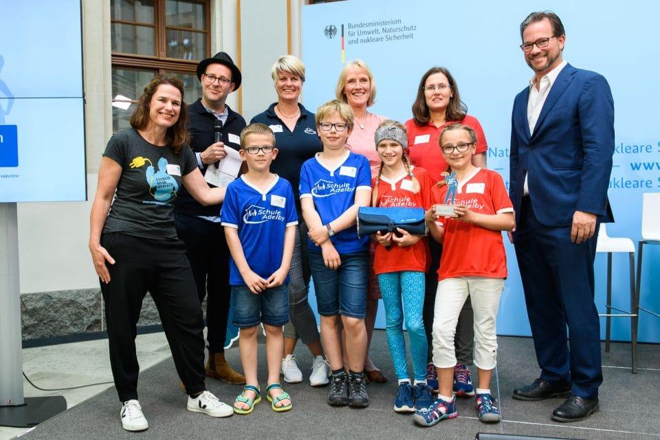 Grundschule Adelby holt Bronze im bundesweiten Energiesparmeister-Wettbewerb