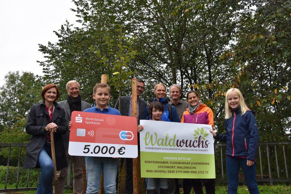 """Auftakt zum """"Einheitsbuddeln"""" in Flensburg"""