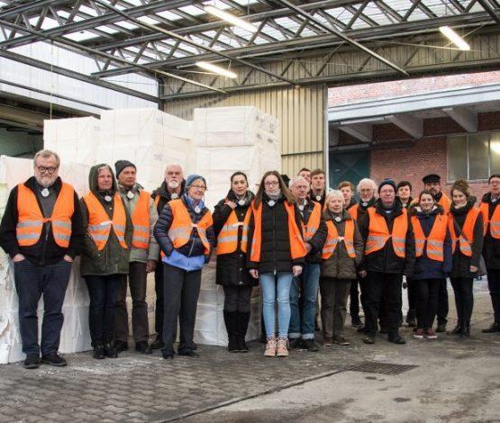 Klimapakt-Exkursion bei Mitsubishi HiTec Paper Europe GmbH