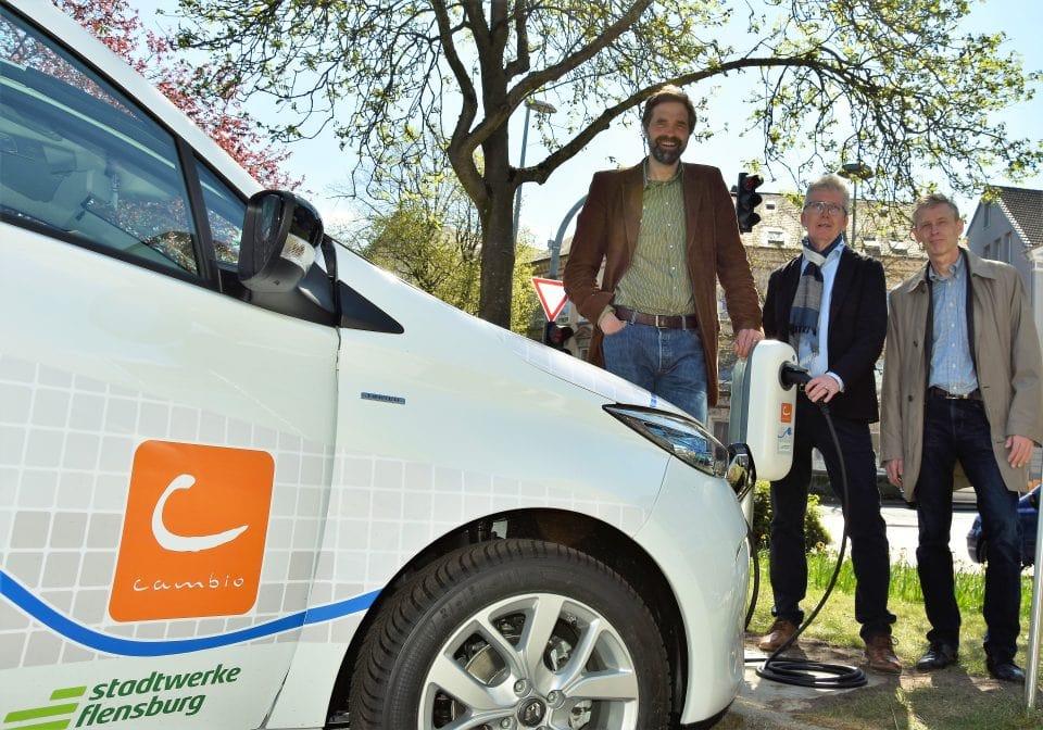 Flensburger Carsharing wird elektrisch!