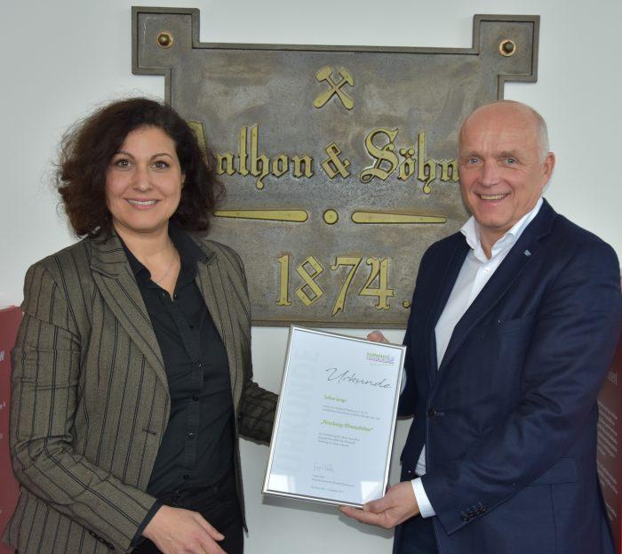 Salloa Lange erhält Auszeichnung zur Flensburgs Klimaschützerin!