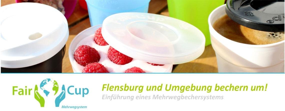 Der Flensburger Mehrwegbecher