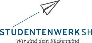 Der Flensburger Mehrwegbecher Studentenwerk SH Wir sind dein Rückenwind Logo