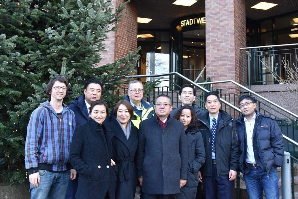 Delegation aus China informiert sich über den Klimaschutz in Flensburg