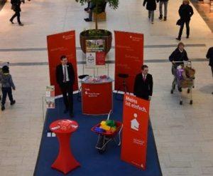 Flensburger E-Mobilitätsmarkt Nospa Messestand
