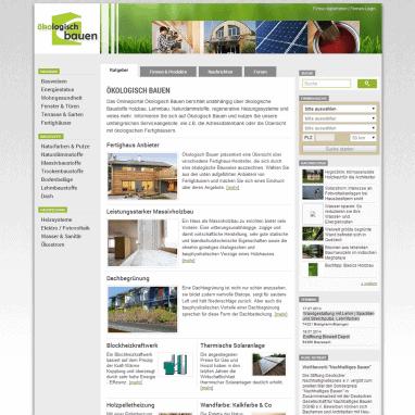 Wissenswertes ökologisch bauen