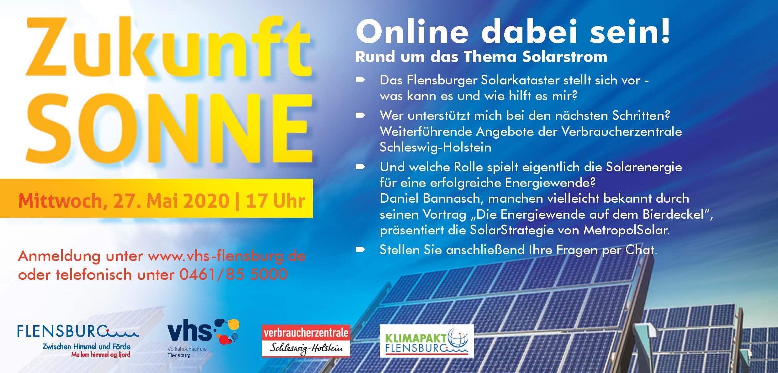Solarstrom vom eigenen Dach – Ihr Beitrag zur Energiewende!