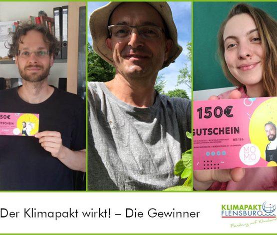 Der Klimapakt wirkt! – Die Gewinner stehen fest!