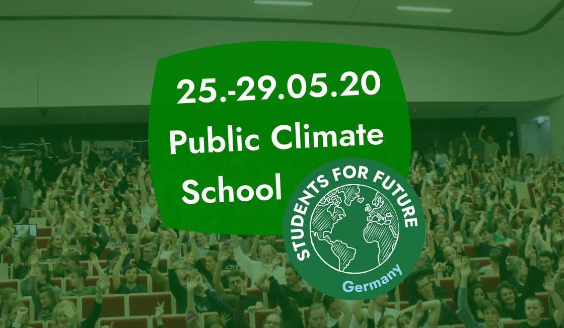 Public Climate School – Jetzt erst recht!