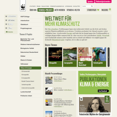Wissenswertes WWF