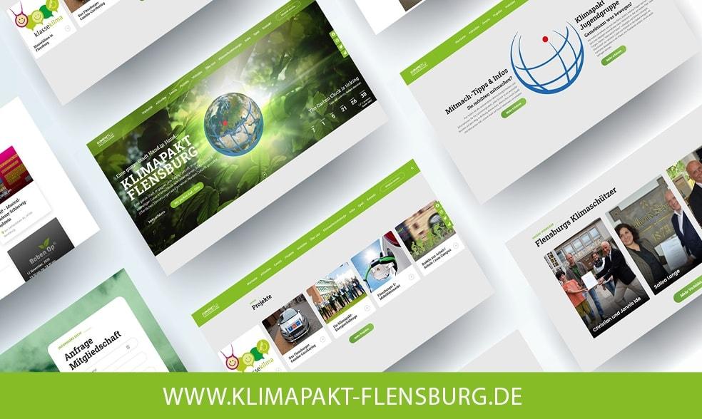 Der Klimapakt hat eine neue Homepage! Relaunch