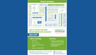 Klimapakt Jugendgruppe Postkarte