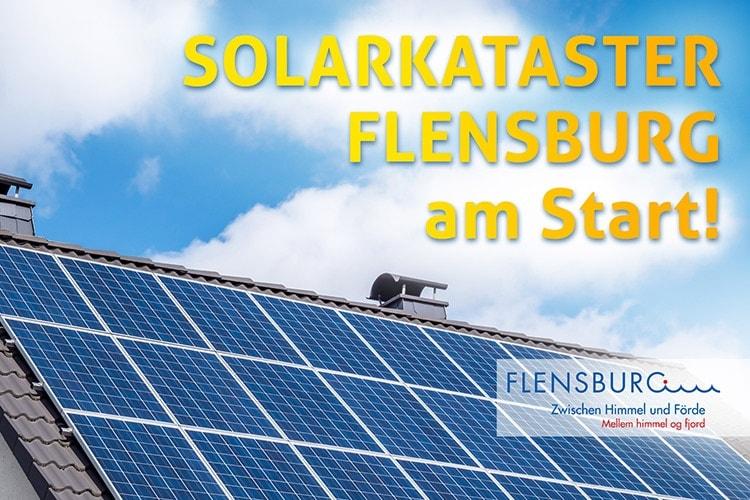 Solarkataster Flensburg am Start