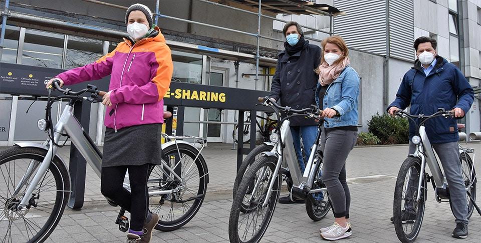 E-Bike-Sharing startet: Per Fahrrad durch Flensburg und Umgebung