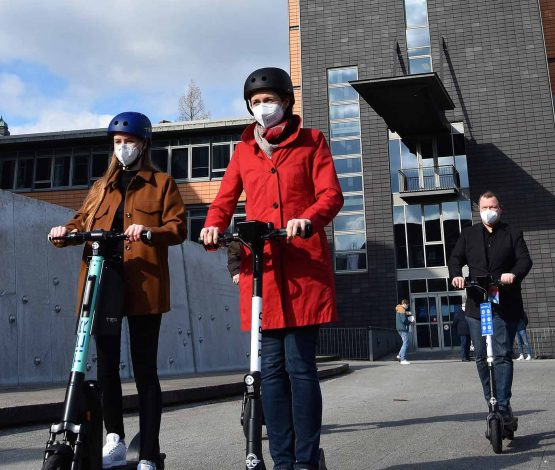 Leih-E-Scooter – jetzt auch in Flensburg!