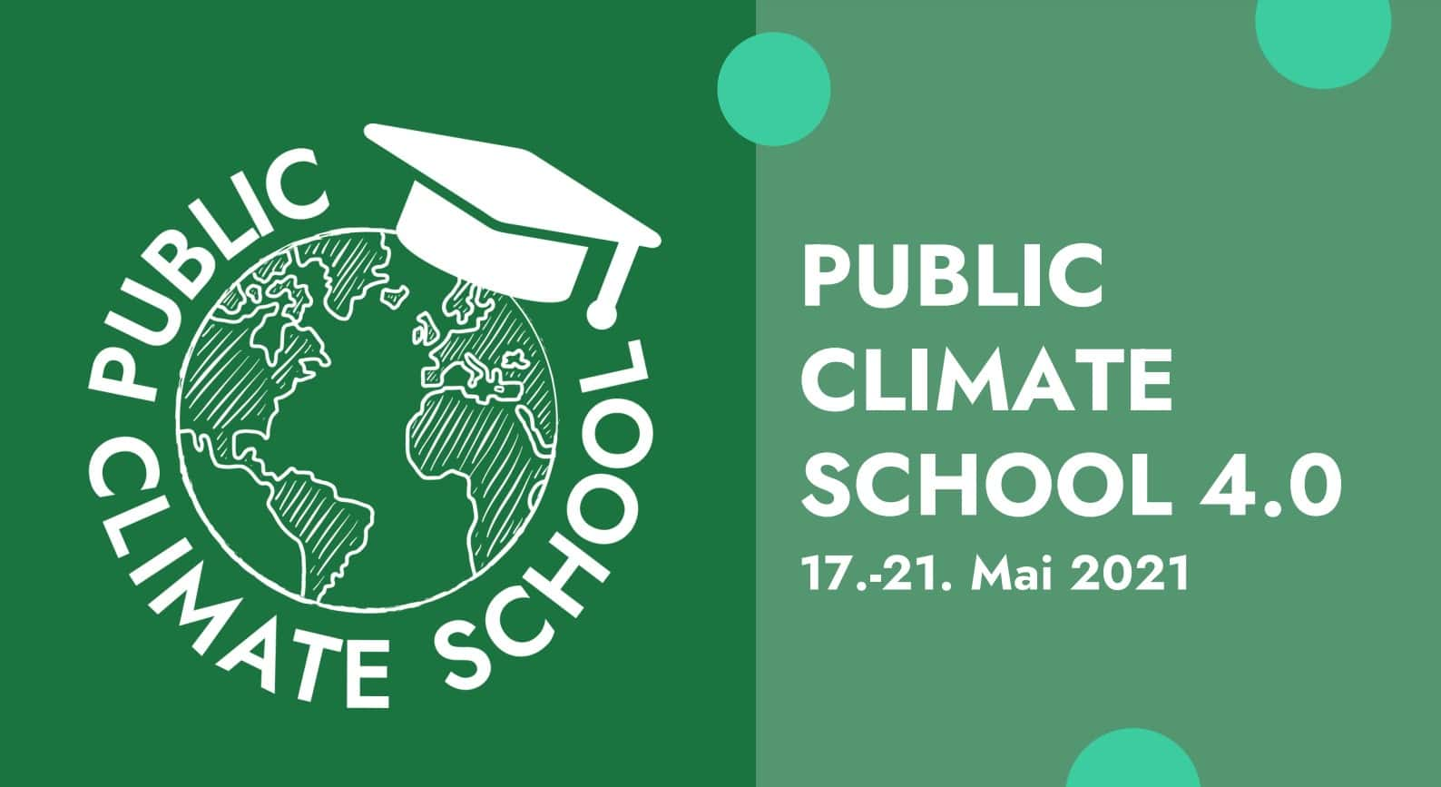 Wandel fängt mit Bildung an Public Climate School 4.0